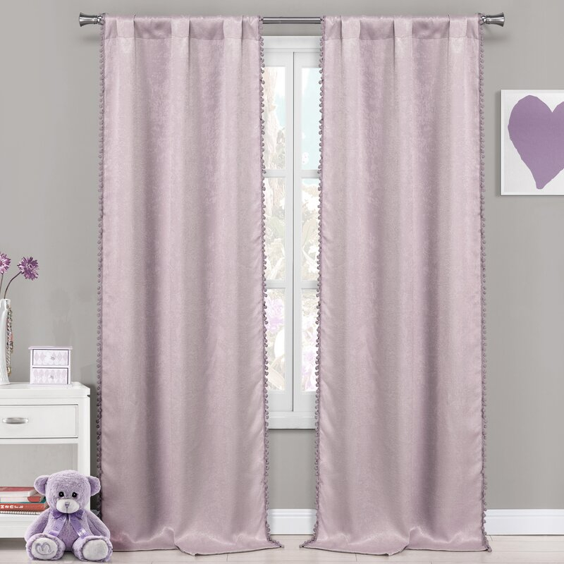 Albrecht Solid Blackout Thermal Rod Pocket Panel Pair With Thermal Rod Pocket Blackout Curtain Panel Pairs (#6 of 50)