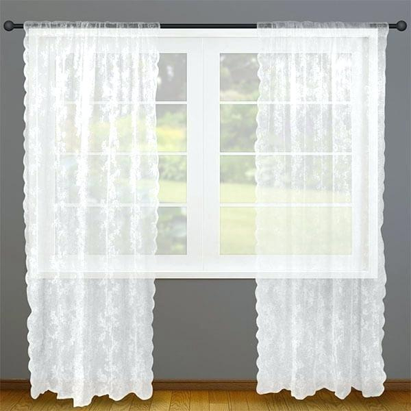 Alison Lace Curtains – Dreamornightmare In Alison Rod Pocket Lace Window Curtain Panels (View 8 of 44)