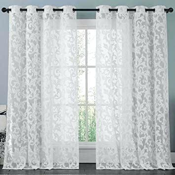 Alison Lace Curtains – Dreamornightmare Inside Alison Rod Pocket Lace Window Curtain Panels (View 9 of 44)