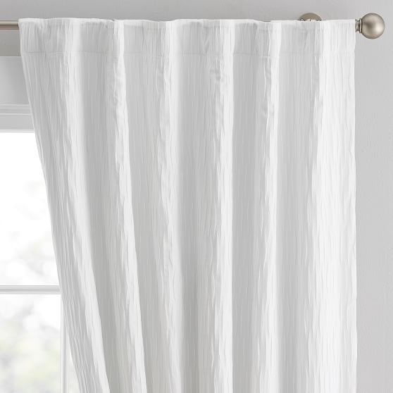 """Allover Pleated Blackout Curtain, 84"""", Light Gray – Rugs + Pertaining To Elrene Aurora Kids Room Darkening Layered Sheer Curtains (View 4 of 40)"""