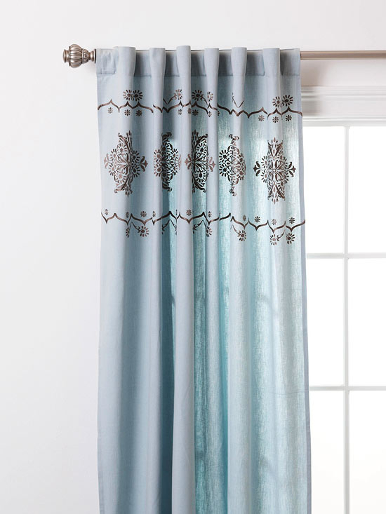 "Amazing Deal: Vue Priya Tab Top Window Curtain Panel, 50"" X Inside Vue Elements Priya Tab Top Window Curtains (View 12 of 36)"