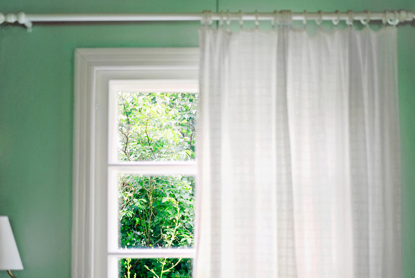 Amazing Savings On Madison Park 2 Pack Jax Cotton Duck With Kaylee Solid Crushed Sheer Window Curtain Pairs (#3 of 40)