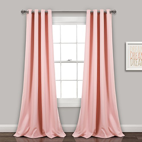 Amazon Deal – Lush Decor Insulated Grommet Blackout Window Throughout Insulated Grommet Blackout Curtain Panel Pairs (View 8 of 50)