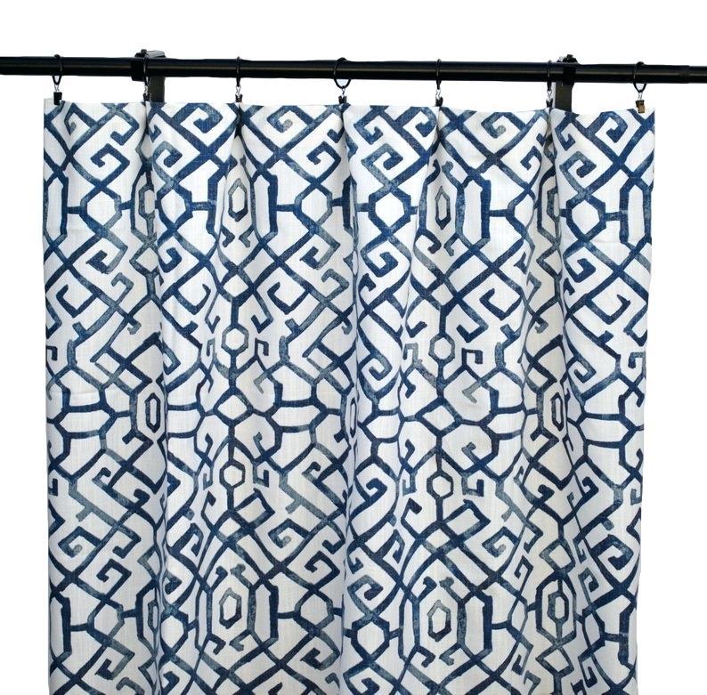 Animal Print Sheer Curtain Panels Printed Panel Cotton Throughout Ink Ivy Ankara Cotton Printed Single Curtain Panels (View 19 of 50)