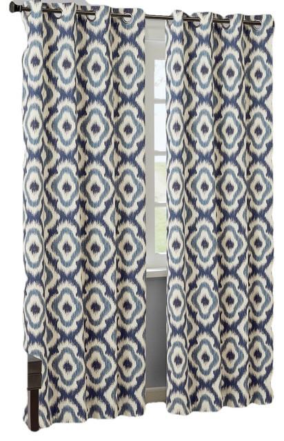 Ankara Cotton Printed Panel Pertaining To Ink Ivy Ankara Cotton Printed Single Curtain Panels (View 8 of 50)
