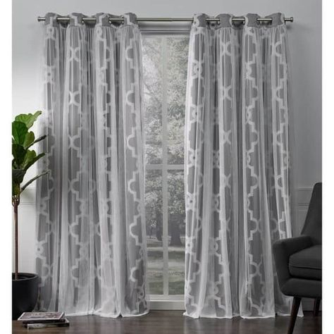 Ati Home Alegra Thermal Woven Blackout Grommet Top Curtain Regarding Bethany Sheer Overlay Blackout Window Curtains (View 1 of 50)