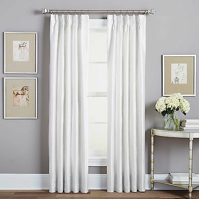 Ati Home Belgian Jacquard Sheer Double Pinch Pleat Top Pertaining To Double Pinch Pleat Top Curtain Panel Pairs (#3 of 50)