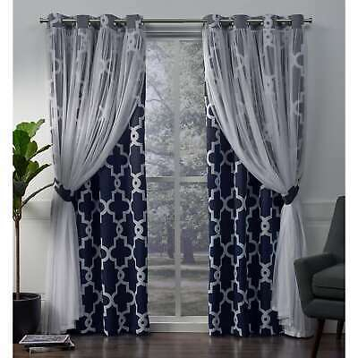 Ati Home Grommet Top Loha Linen Window Curtain Panel Pair Pertaining To Oxford Sateen Woven Blackout Grommet Top Curtain Panel Pairs (View 2 of 44)