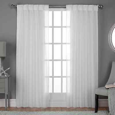 Ati Home Penny Sheer Grommet Top Curtain Panel Pair – $ (#8 of 49)