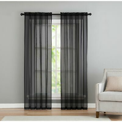 Ati Home Penny Sheer Grommet Top Curtain Panel Pair – $ (#9 of 49)