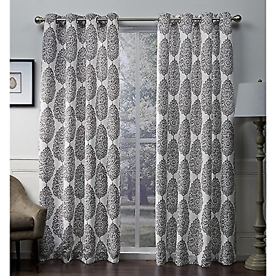 Ati Home Queensland Sateen Blackout Grommet Top Curtain Intended For Oxford Sateen Woven Blackout Grommet Top Curtain Panel Pairs (View 3 of 44)