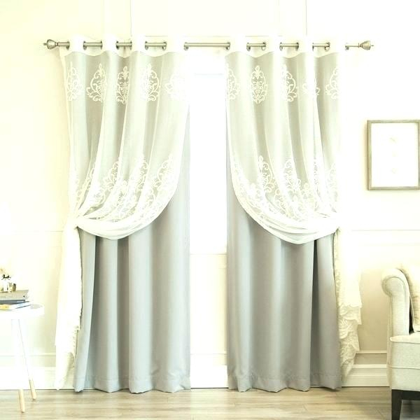 Aurora Home Curtains – Lifecityny For Mix And Match Blackout Tulle Lace Sheer Curtain Panel Sets (#5 of 50)