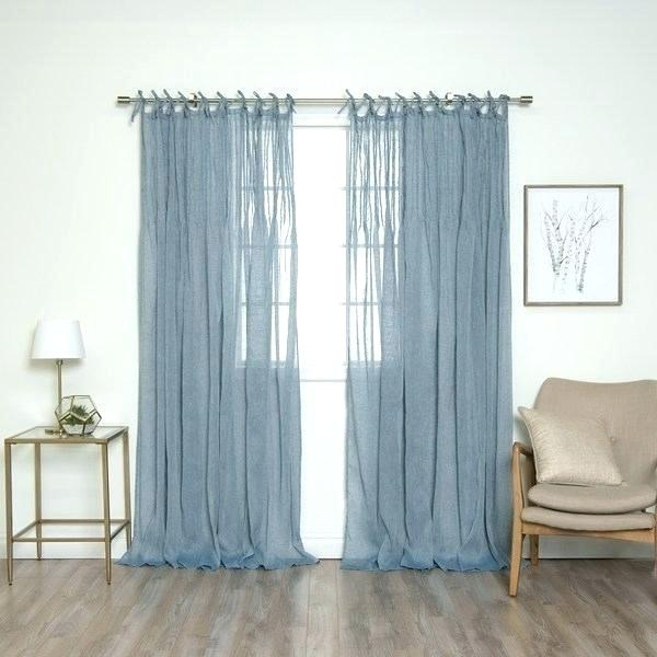 Aurora Home Curtains – Lifecityny Inside Mix And Match Blackout Tulle Lace Sheer Curtain Panel Sets (#6 of 50)
