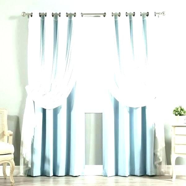 Aurora Home Curtains – Margareteribas Intended For Mix & Match Blackout Tulle Lace Bronze Grommet Curtain Panel Sets (View 5 of 50)
