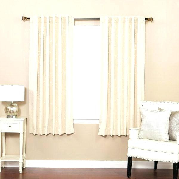Aurora Home Curtains – Zagaasportsfoundation Intended For Star Punch Tulle Overlay Blackout Curtain Panel Pairs (#12 of 50)