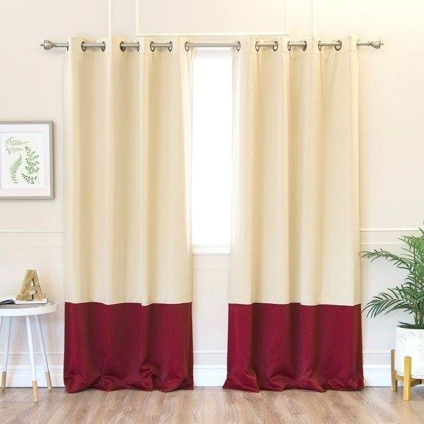 Aurora Home Insulated Thermal Blackout 84 Inch Curtain Panel Inside Solid Thermal Insulated Blackout Curtain Panel Pairs (View 19 of 50)