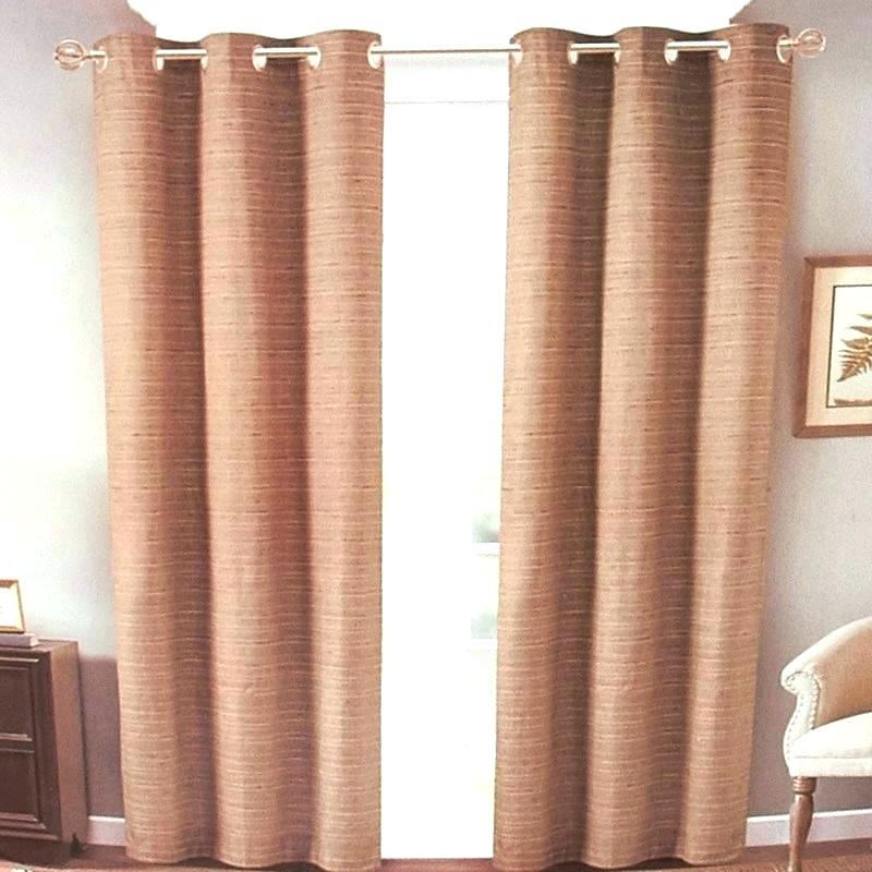 Aurora Home Insulated Thermal Blackout 84 Inch Curtain Panel Throughout Thermal Textured Linen Grommet Top Curtain Panel Pairs (View 7 of 42)