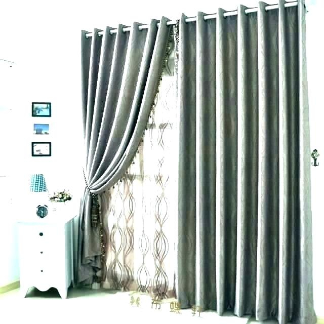 Aurora Home Mix And Match Blackout Curtains Panel Set 4 Regarding Mix And Match Blackout Blackout Curtains Panel Sets (#12 of 50)