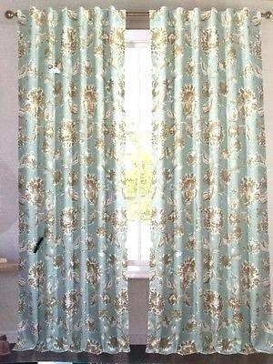 Aurora Home Thermal Insulated Blackout Grommet Top Curtain Intended For Thermal Insulated Blackout Grommet Top Curtain Panel Pairs (#10 of 50)