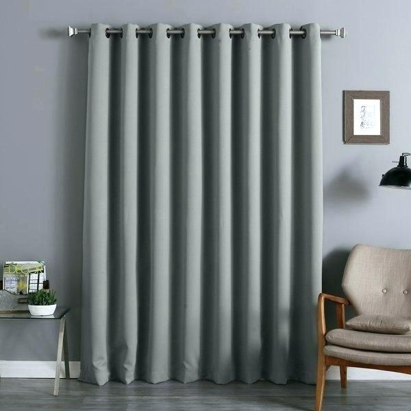 Aurora Home Thermal Insulated Blackout Grommet Top Curtain With Regard To Grommet Top Thermal Insulated Blackout Curtain Panel Pairs (View 19 of 50)