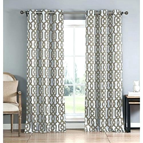 Aztec Print Curtains – Bluehorizonsinc With Regard To Mecca Printed Cotton Single Curtain Panels (View 33 of 50)