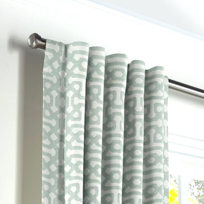 Back Tab Curtains With Regard To Heritage Plush Velvet Single Curtain Panels (View 3 of 50)