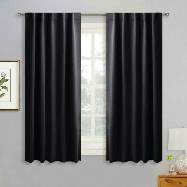 Popular Photo of Thermal Rod Pocket Blackout Curtain Panel Pairs