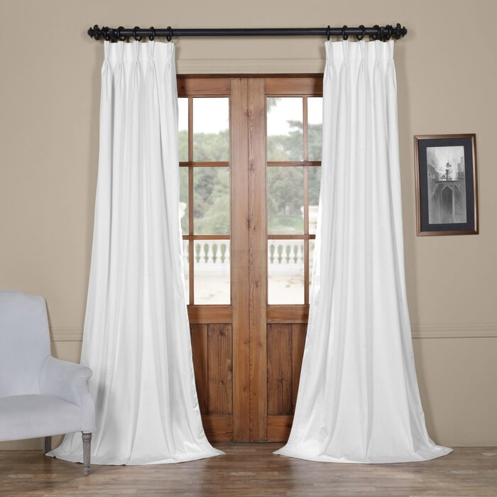 Balone Solid Blackout Thermal Single Curtain Panel For Single Curtain Panels (View 8 of 36)