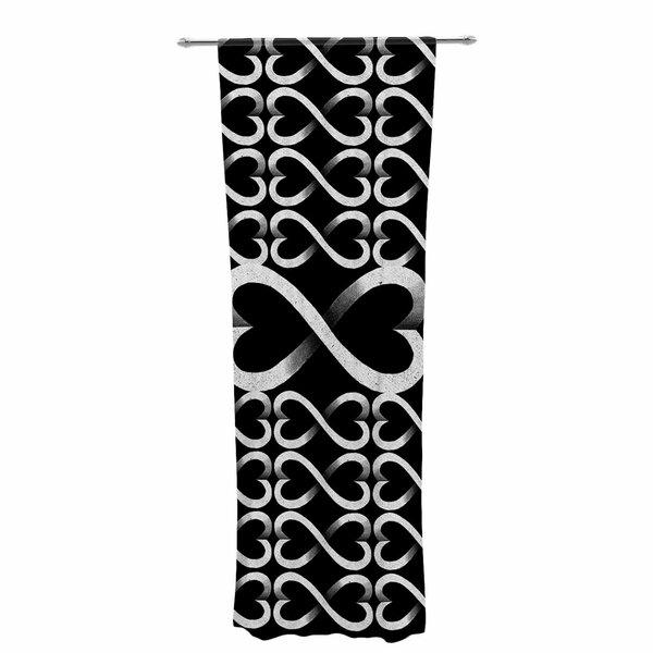 Barmalisirtb Love Infinity Geometric Sheer Rod Pocket Curtain Panels Inside Infinity Sheer Rod Pocket Curtain Panels (#3 of 50)