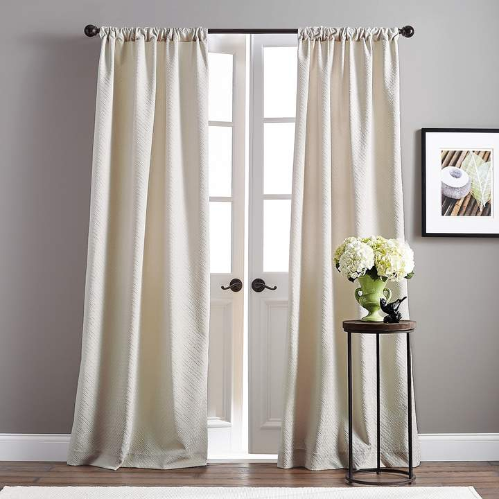 Basket Pole Top Curtain Panels   Products In 2019   Panel Inside Luxury Collection Venetian Sheer Curtain Panel Pairs (#3 of 36)