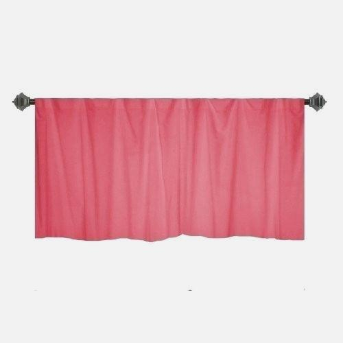 Beat Coral Window Valance – Eggplant Show (View 7 of 50)