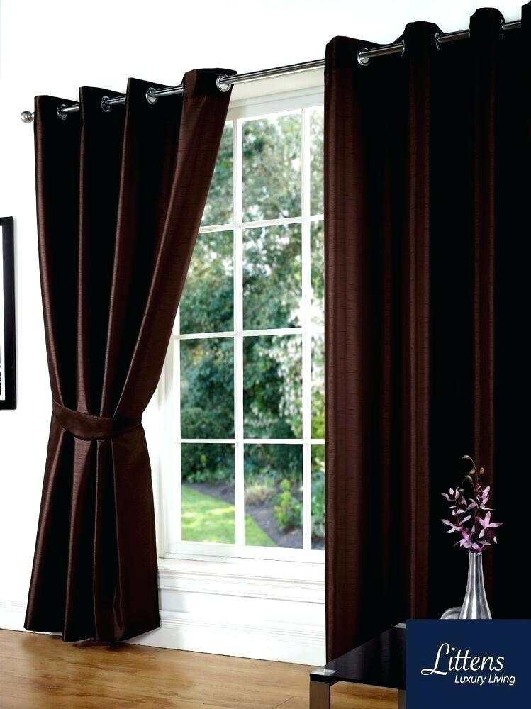 Bed Bath Beyond Drapes Pertaining To Overseas Faux Silk Blackout Curtain Panel Pairs (#4 of 41)