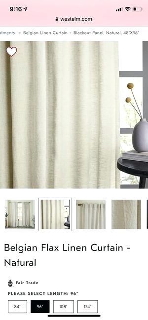 Belgian Flax Linen Curtains – Blackfront Regarding Signature French Linen Curtain Panels (#2 of 50)