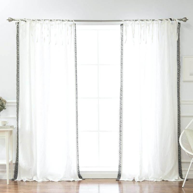 Belgian Flax Linen Curtains – Blackfront With Regard To Signature French Linen Curtain Panels (#4 of 50)
