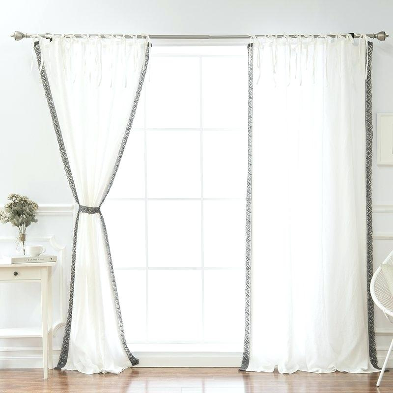 Belgian Linen Curtains Curtain Panels – Prettybynature (View 5 of 46)