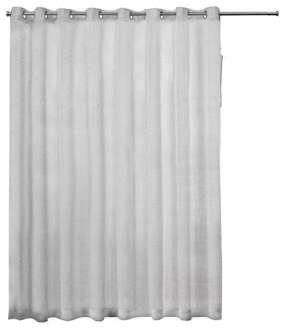 Popular Photo of Patio Grommet Top Single Curtain Panels