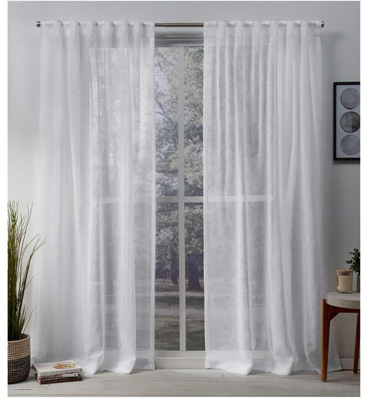 Belgian Sheer Hidden Tab Top Curtain Panel Pair In 2019 For Jacob Tab Top Single Curtain Panels (View 4 of 23)