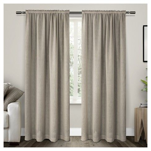 Belgian Texted Linen Rod Pocket Sheer Window Curtain Panels With Belgian Sheer Window Curtain Panel Pairs With Rod Pocket (View 11 of 46)