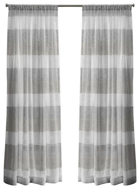 "Bern Rod Pocket Window Curtain Panels – 50"" X 84"", Dove Grey, Set Of 2 /  Pair With Cynthia Jacobean Room Darkening Curtain Panel Pairs (View 1 of 41)"