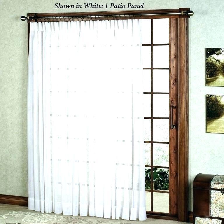 Best Blinds For Patio Doors – Portugalplaces Regarding Inez Patio Door Window Curtain Panels (#4 of 50)