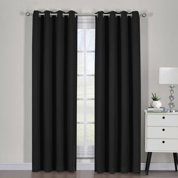 Best Curtain Panel Pairs Products On Wanelo For Woven Blackout Curtain Panel Pairs With Grommet Top (#5 of 42)