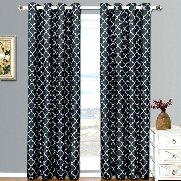Best Dream City Room Darkening Thermal Blackout Curtains Regarding Raw Silk Thermal Insulated Grommet Top Curtain Panel Pairs (#10 of 46)