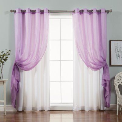 Popular Photo of Mix And Match Blackout Blackout Curtains Panel Sets