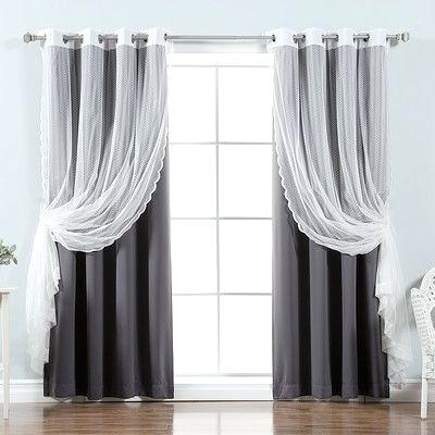 Best Home Fashion Curtains With Mix And Match Blackout Blackout Curtains Panel Sets (#21 of 50)