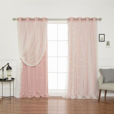 Best Home Fashion Indie Pink 84 In (View 6 of 50)
