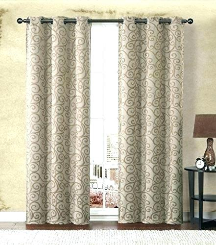 Best Insulated Curtains For Sliding Glass Doors Drapes Patio In French Linen Lined Curtain Panels (View 5 of 50)