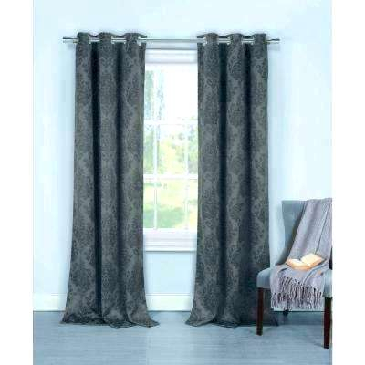 Black And Grey Blackout Curtains Dark Gray – Newportvtwx Within Eclipse Newport Blackout Curtain Panels (View 3 of 41)