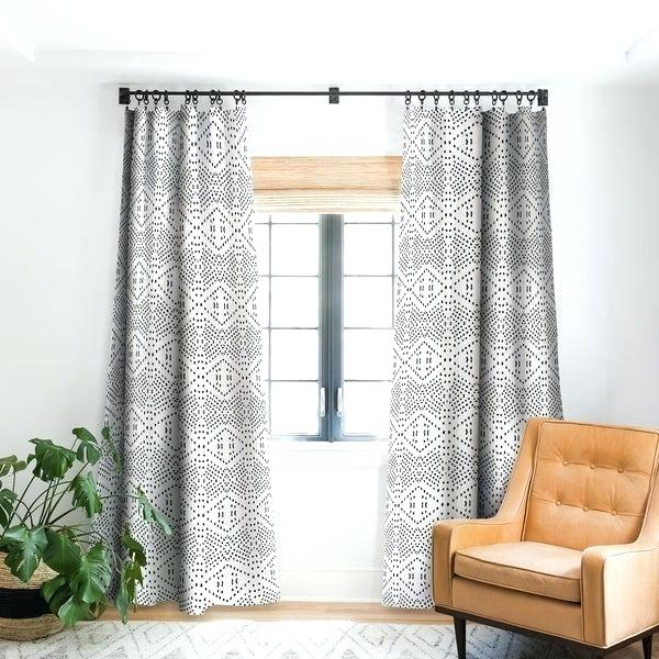 Black Blackout Curtains – Fakesartorialist Regarding Luxury Collection Faux Leather Blackout Single Curtain Panels (View 38 of 42)
