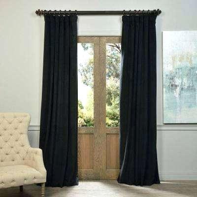 Black Curtain Panels – Getvca (#6 of 50)