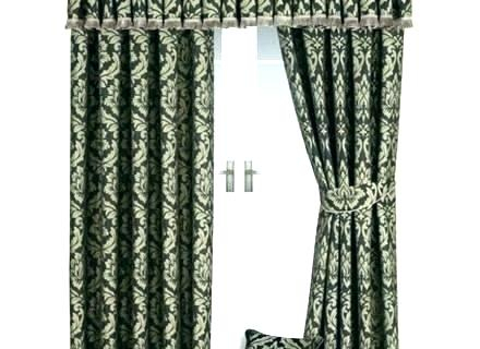 Black Damask Curtains – Himvalleymanali (#7 of 50)